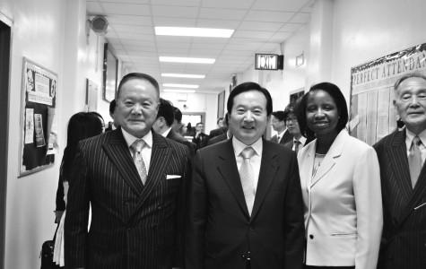 Mayor Kang Un Tae visits Curtis