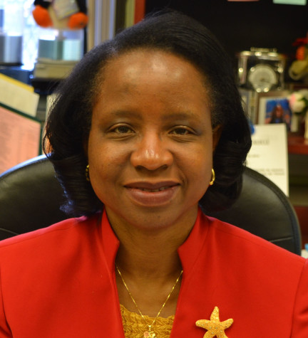 Former principal Dr. Curtis