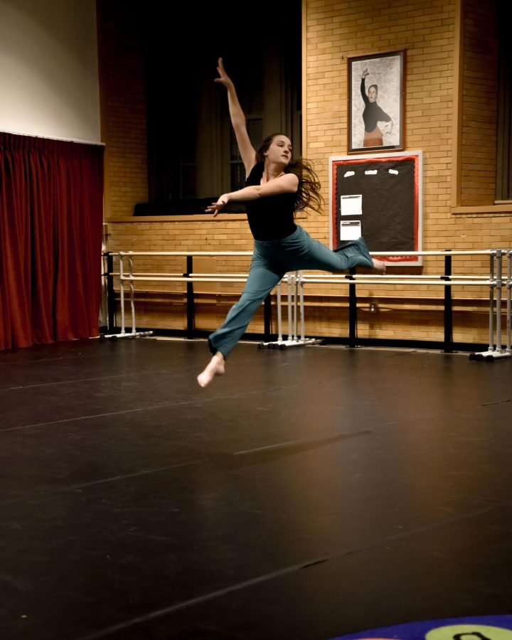 Julia+Holtermann%2C+mid+jump%2C+during+a+performance+at+the+dedication+of+the+new+dance+room.+